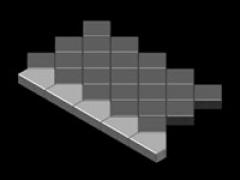Квадрат 4 шт/кв.м